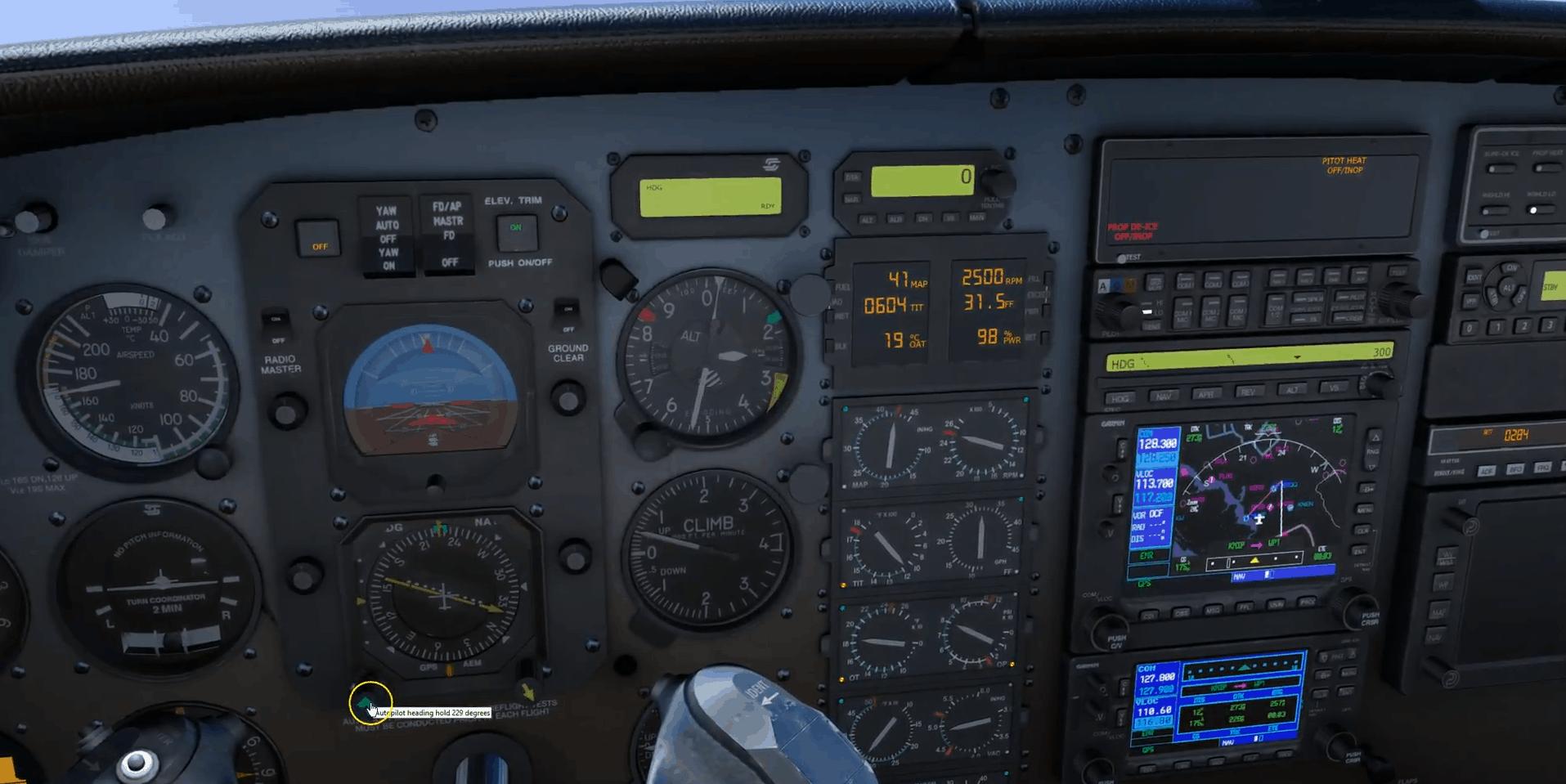Autopilot Guide Piper Pa 34 Seneca Amp Piper Pa 46 Malibu