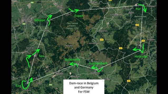 Dam-race