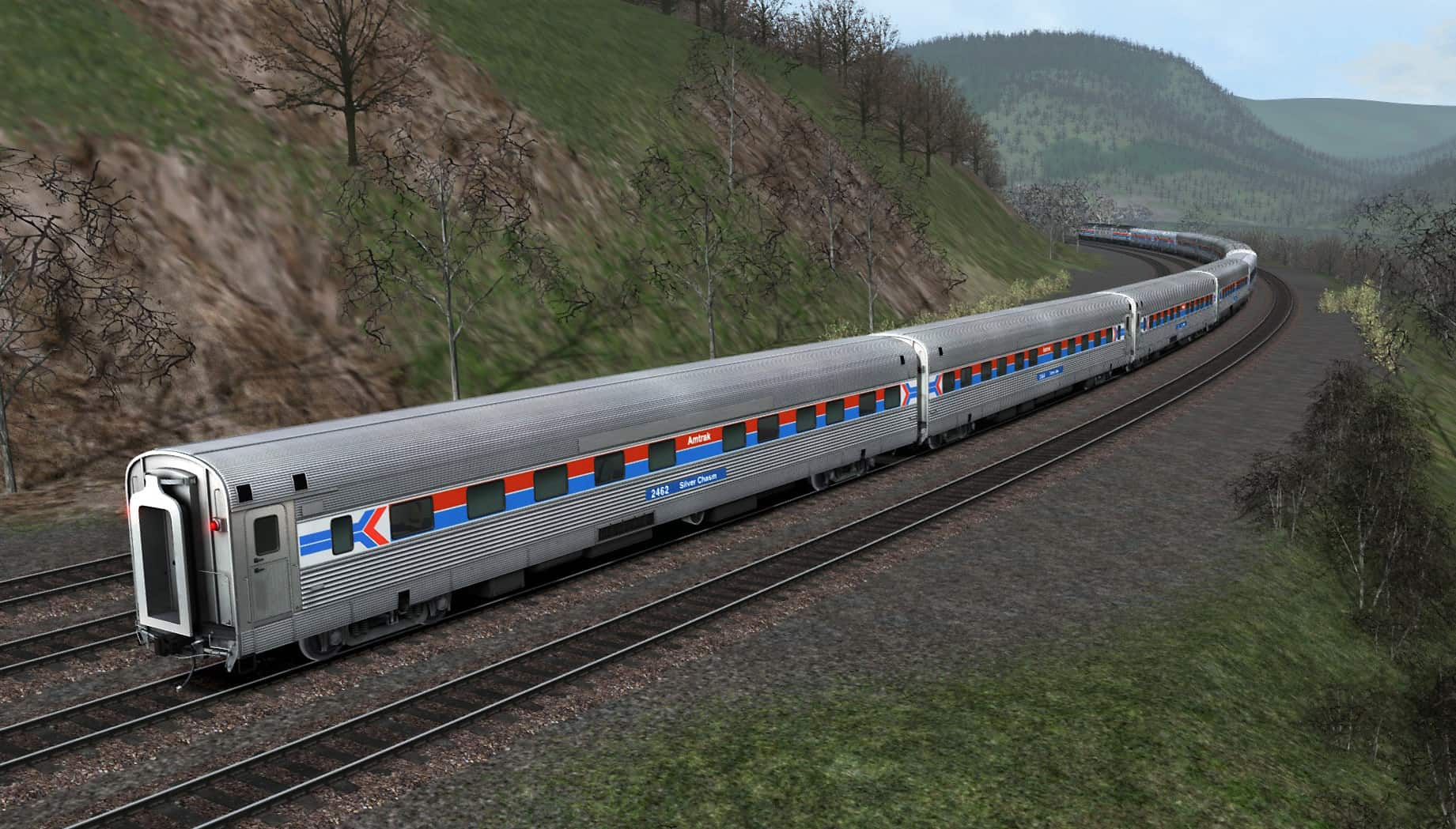 TS18: Amtrak's Iconic EMD E8