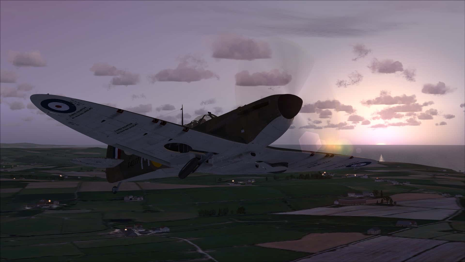 FSX: RJ Mitchell's Masterpiece - Dunkirk Spitfire from Just