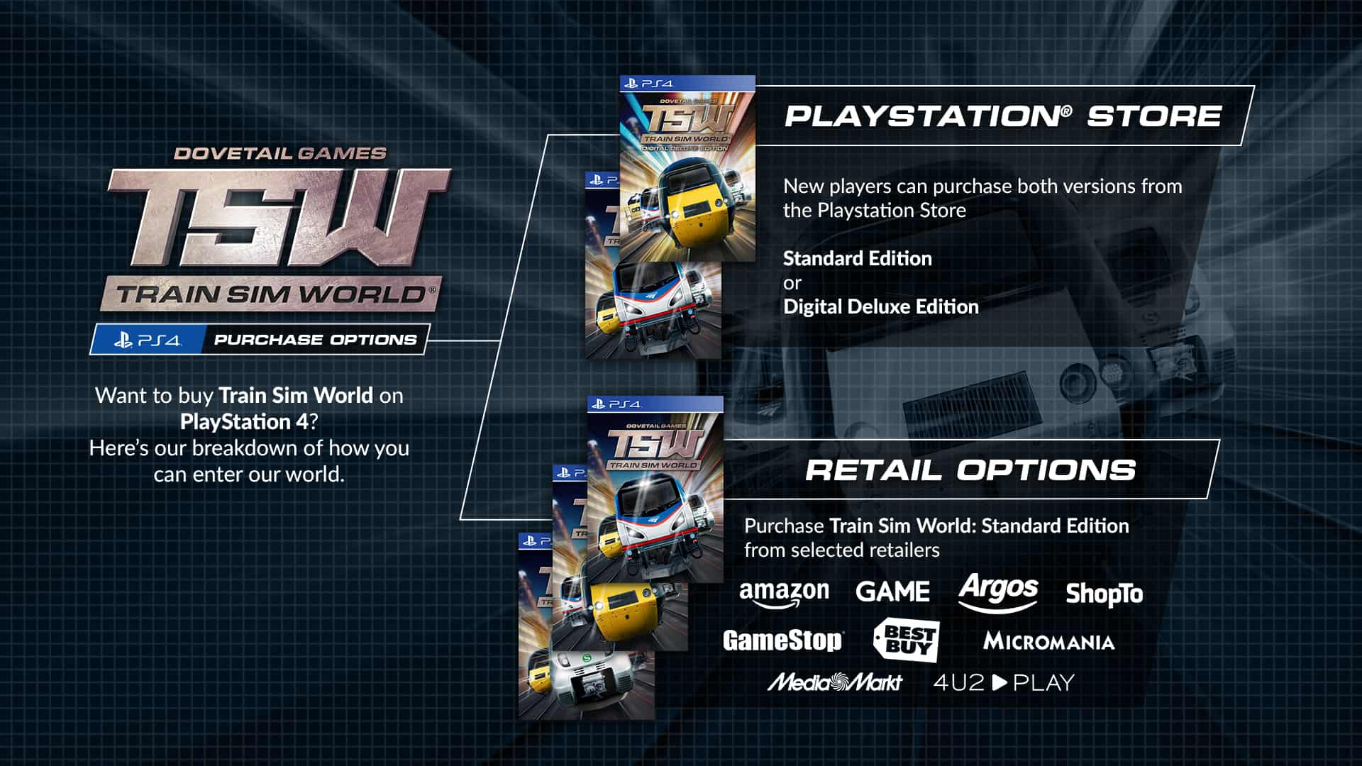 How To Get Train Sim World Playstation 4