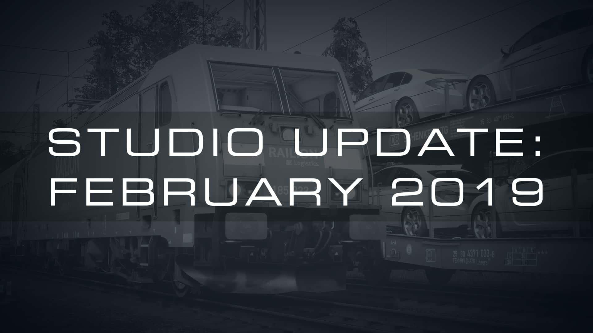 Train Sim World Studio Update - February 2019