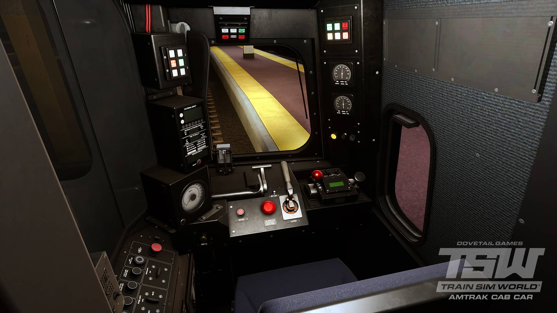 Tsw Amtrak S Cab Car Is Coming